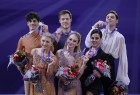 Russia Figure Skating Rostelecom Cup Awarding Ceremony